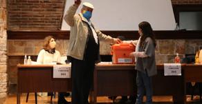 Antia aseguró que vota confiado en que seguirá trabajando por Maldonado