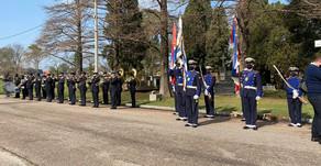 Lacalle Pou encabezó el acto por el Día de los Mártires de la Aviación Militar