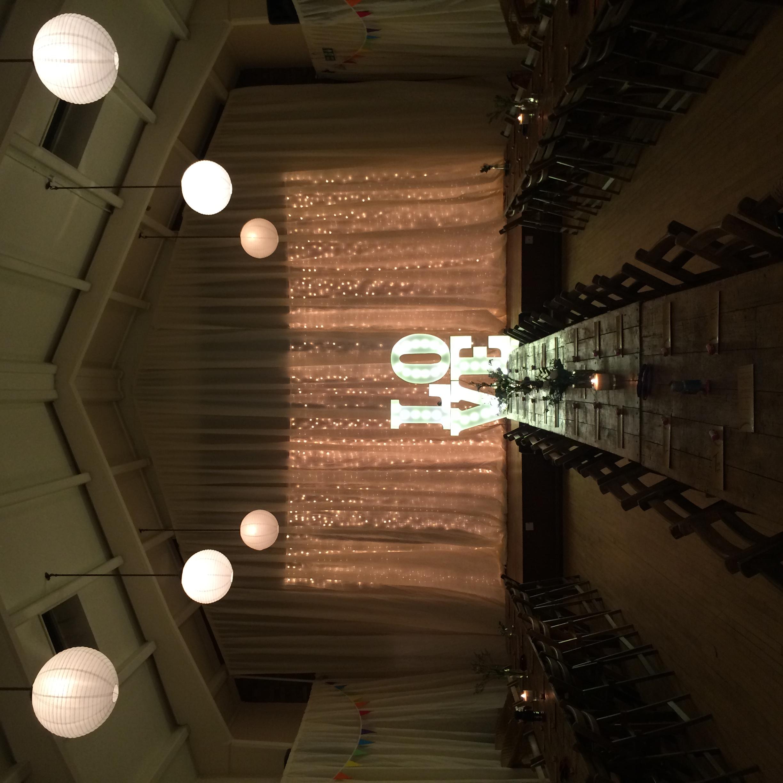 wedding illuminations hire