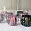 Thumbnail: 4 COLOUR GLASS TEALIGHT HOLDER BUNDLE