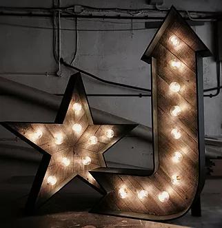 wedding lights and illuminations hire