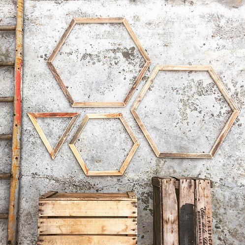 RUSTIC WOODEN SHAPES