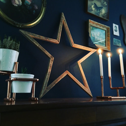 RUSTIC WOODEN STARS