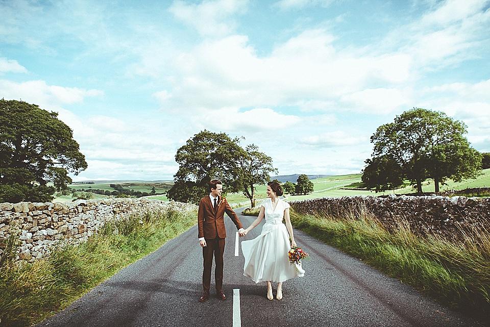 rustic wedding tweed