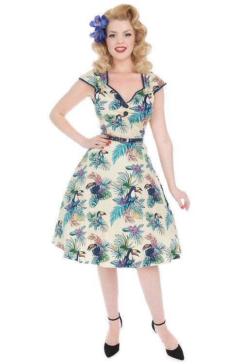 Cream swing Dress – Sunshine Toucan
