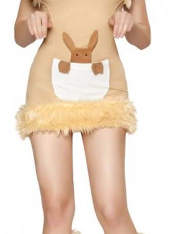 Ladies kangaroo costume size small to medium