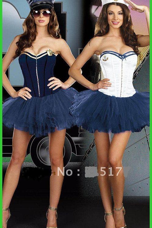 Navy blue sailors costume size small/medium