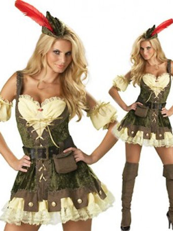 Maid Marion ladies costume