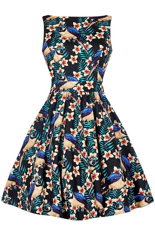 VIP Swing Dress – Macaw Swing Dress -made in London