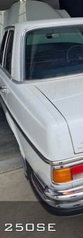 1966 Mercedes 250SE