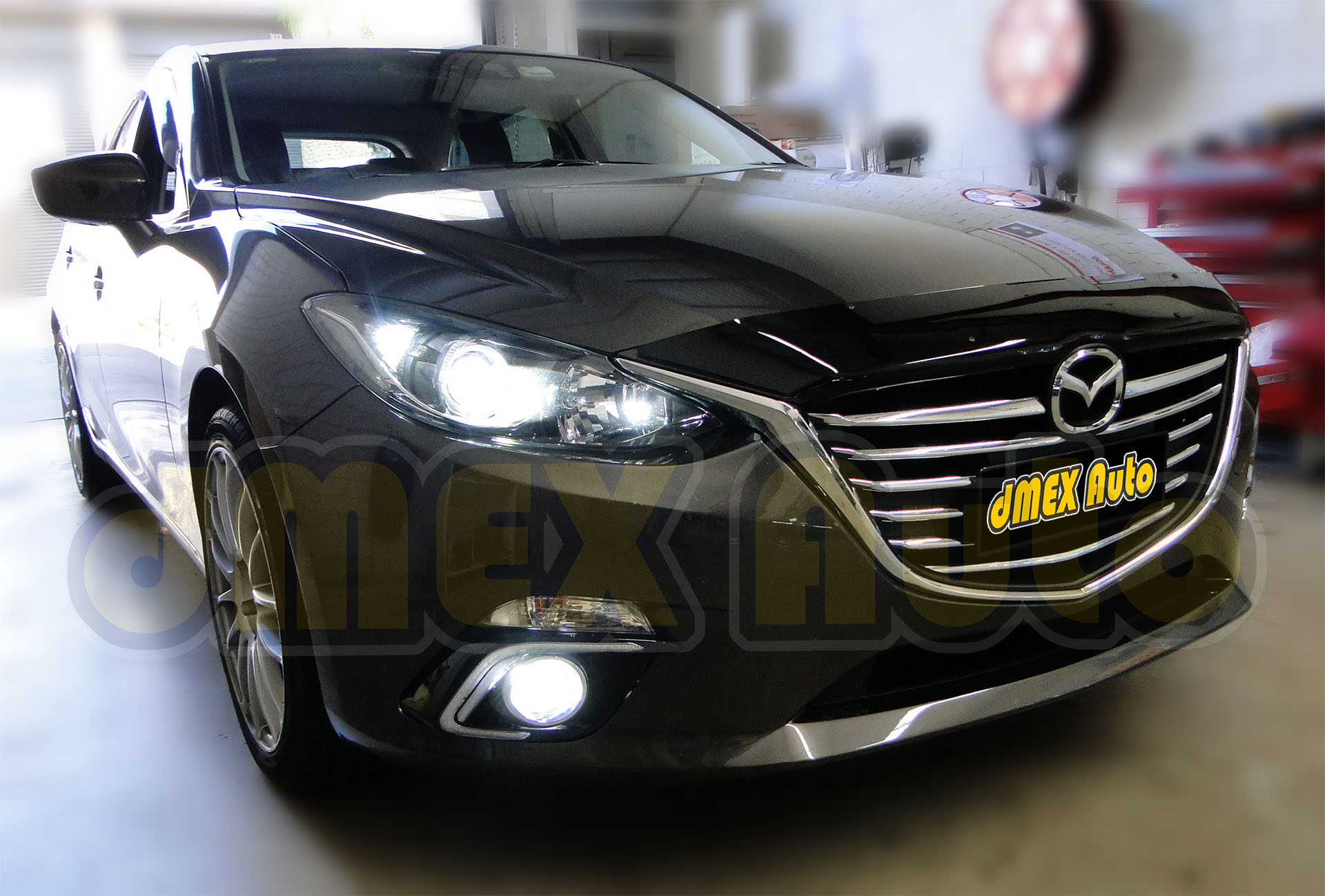Mazda 3 2015 BM Series Light Upgrade