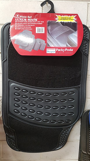 High Quality Floor Mats - Universal - 4pcs - Packy Poda