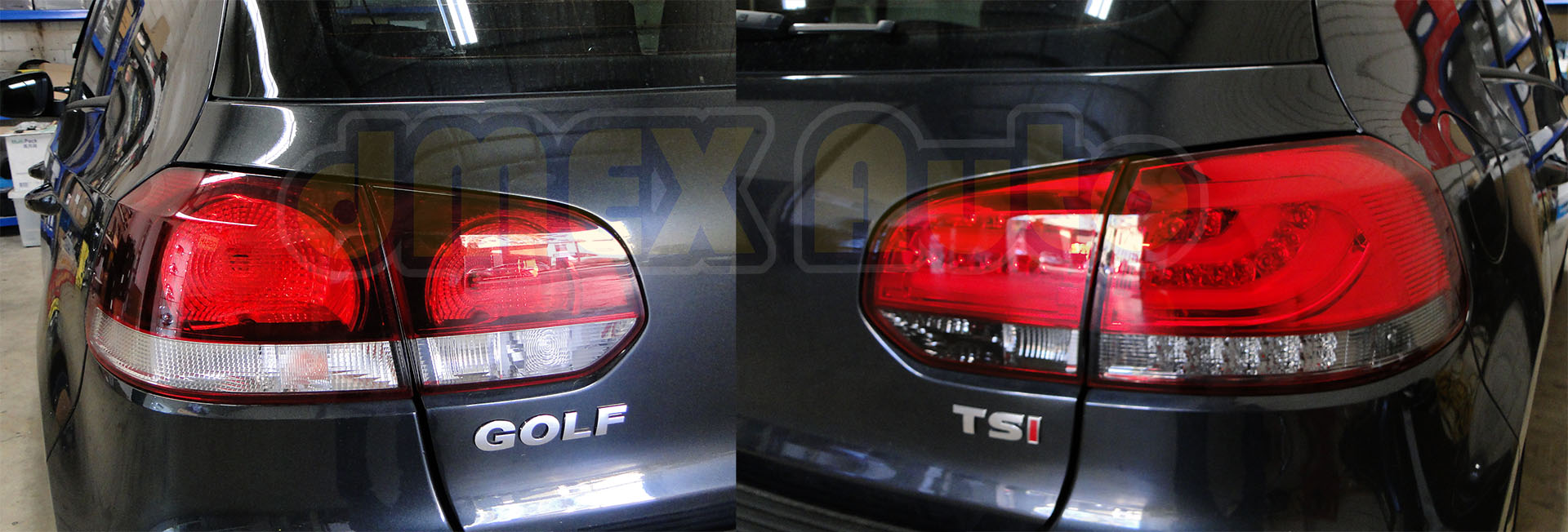 VW Golf Mk6 LED Tail Lights