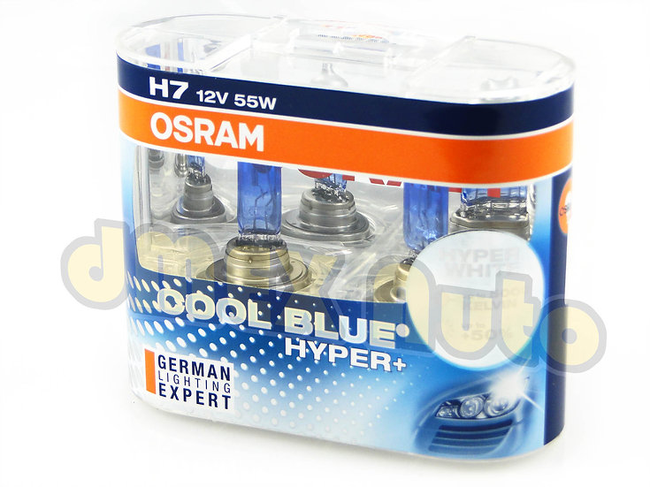 OSRAM Cool Blue Hyper+ H7