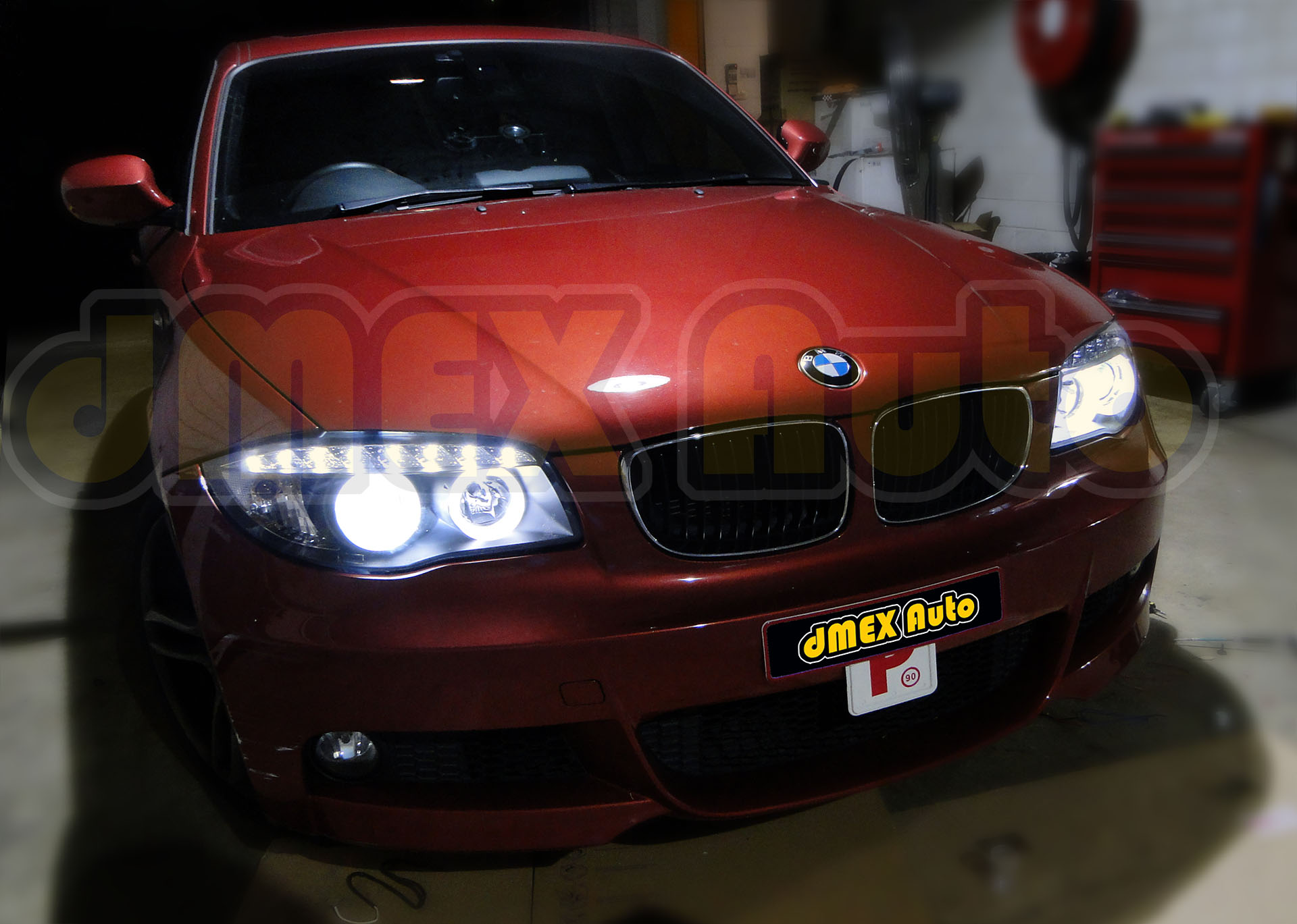 BMW E87 1 Series Headlight Upgrade