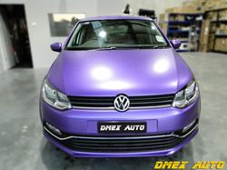 VW Polo Full Body Wrap