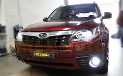 Headlight Installed - Subaru Forester 08-12 - DSC09627 (Small)