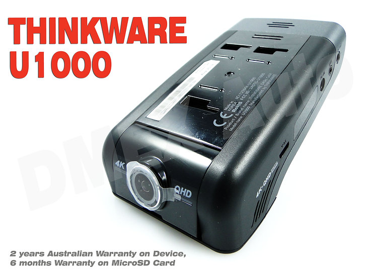 THINKWARE  U1000  Dash Cam 32Gb U4KD32