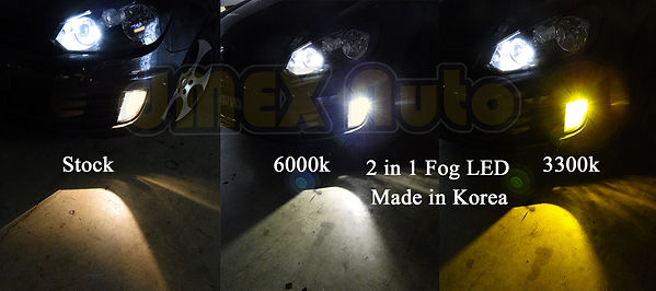 LED Car Light Fog Light VW Golf