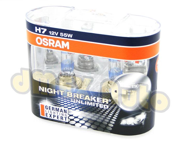 OSRAM Night Breaker Unlimited H7
