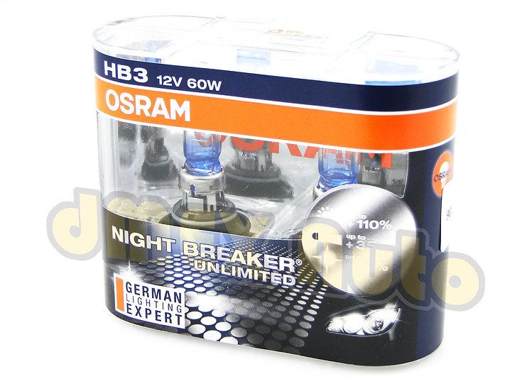 OSRAM Night Breaker Unlimited HB3 9005