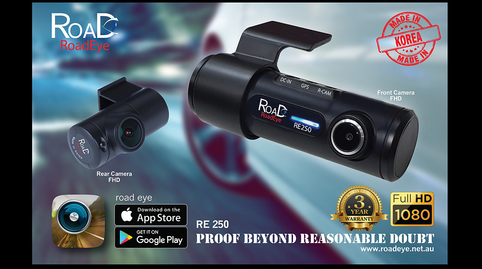 RoadEye  RE-250  Dashcam