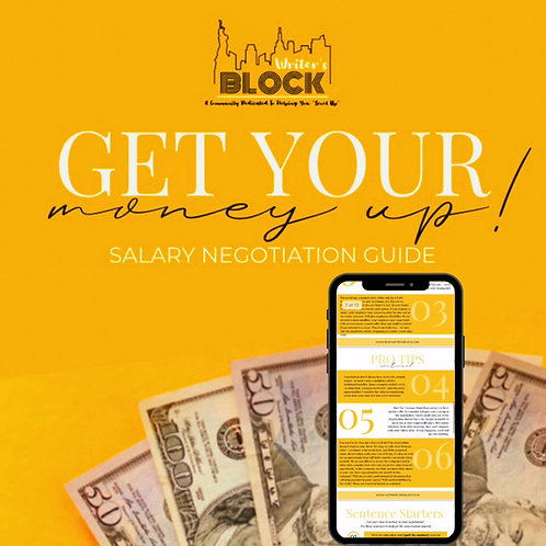 SALARY NEGOTIATION GUIDE (INSTANT DOWNLOAD)