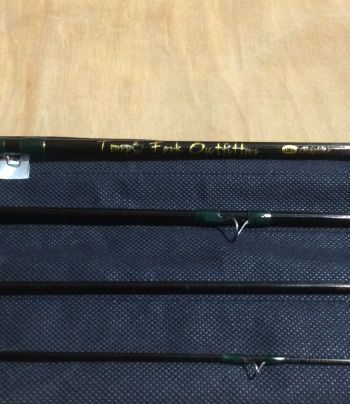 """USED TFO entry model 8' 6"""" 5wt 4pc"""