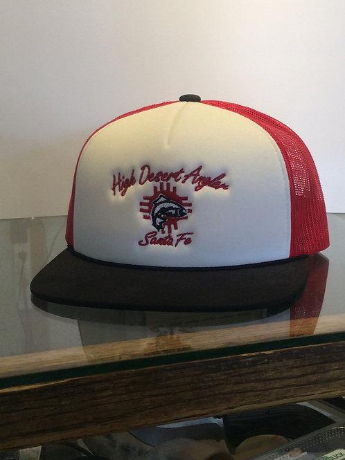 High Desert Angler Flat Brim Hat. Various Colors