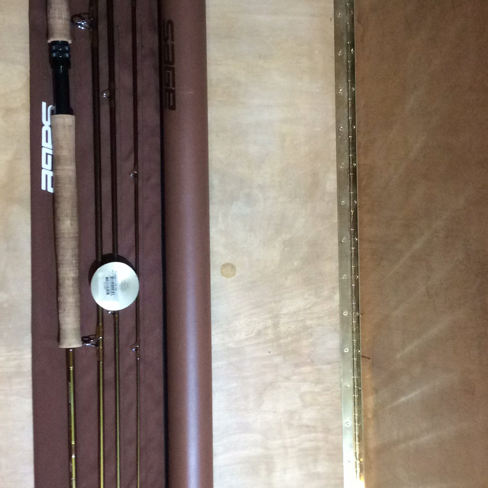 USED Sage 5120-4 graphite iiie spey rod