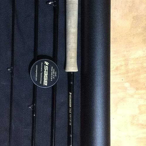 USED Sage 8136-4 One Spey Rod