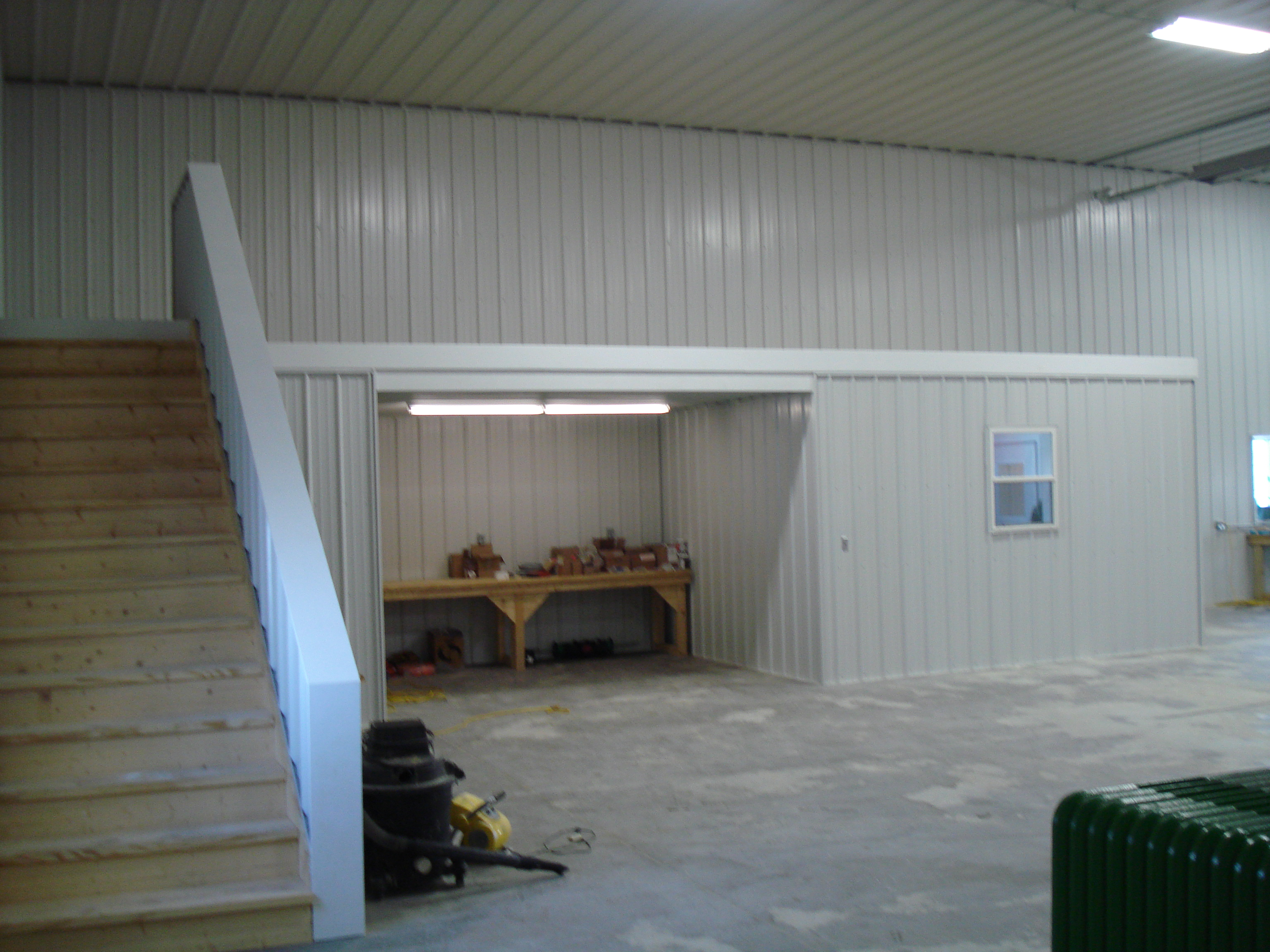 Custom Shop Interior