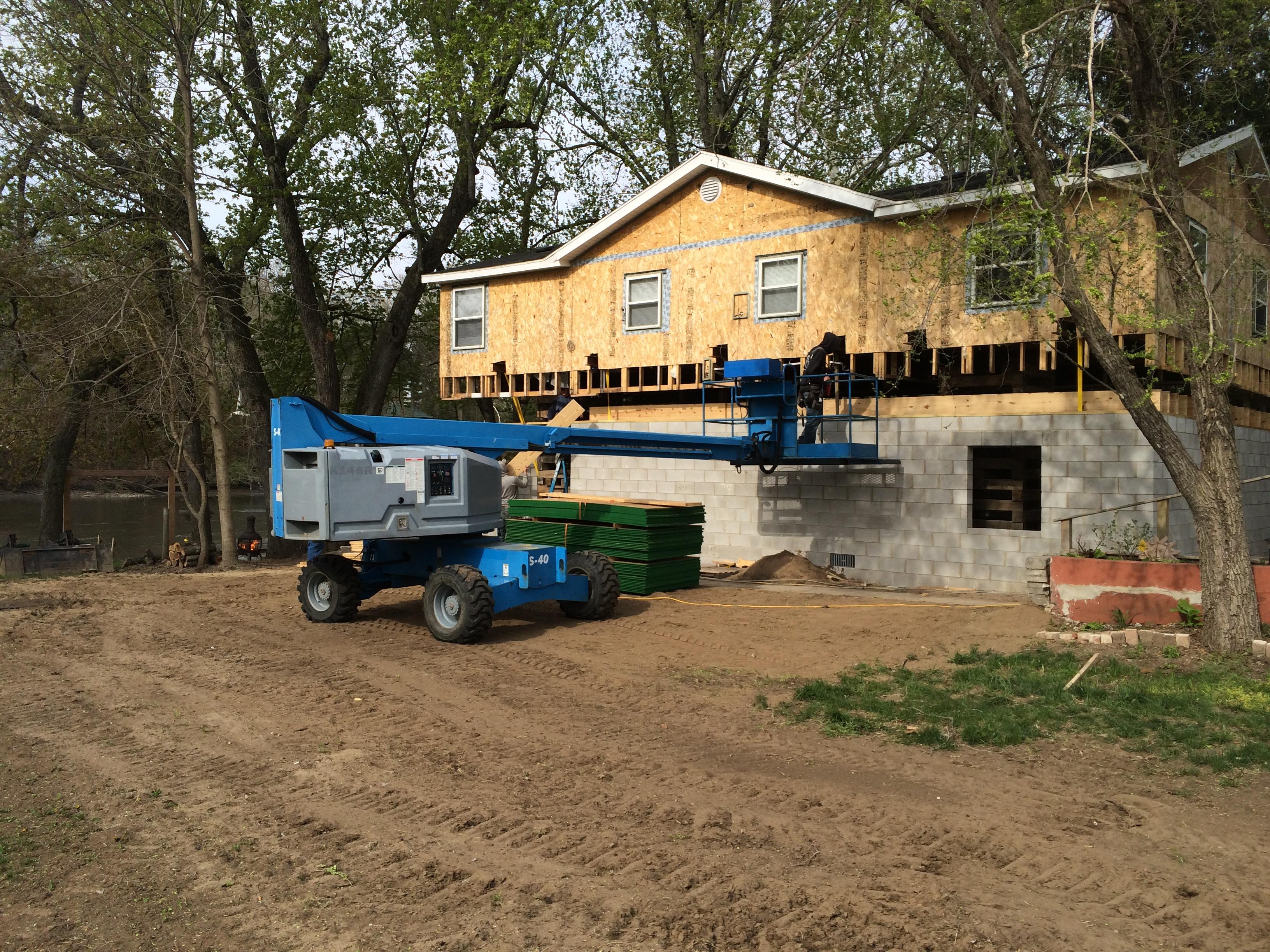Raising a River House