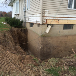 Basement Wall Repair