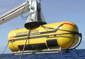 Figure 11: Benthic visual surveys with the Ocean Explorer 6000 will generate geomorphic proxies for biodiversity.