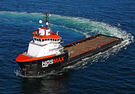 Figure 4: One of thousands of OSVs available in the offshore sector for time charter as MARVs. (Shown: Hornbeck Offshore 310 Series OSV, LOA: 92m, DP2, 50 berths.)