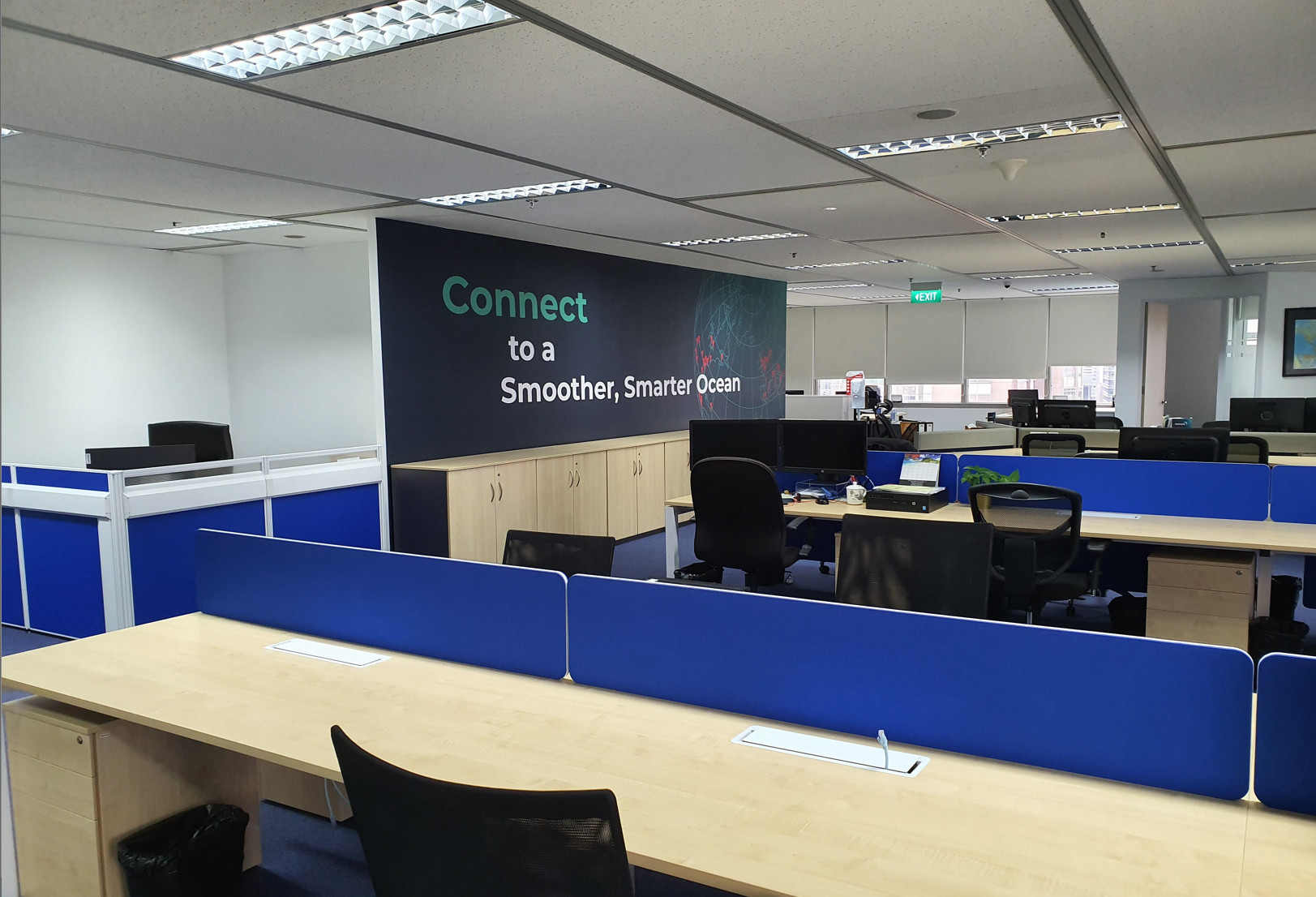 Figure 2: MARV HUB: Singapore project office.