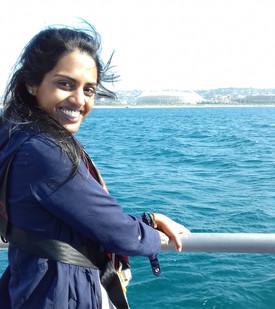 Kajal Lechman, Global Oceans Intern and GSP Ecosystem Modeling Workshop Coordinator