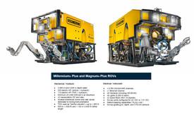 Figure 4: Operational capacity of Oceaneering ROVs linked with Global Oceans ROV Science Modules.