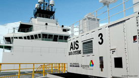 Figure 3: The AIS includes 3 instrument modules: Radar, Aerosol, and Data Systems; and 1 Workshop/Storage module.
