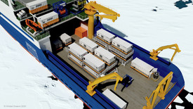 Figure 7: MARV science deck configuration on the Aiviq chartered icebreaker proposed for the SASx Arctic Baseline Project.
