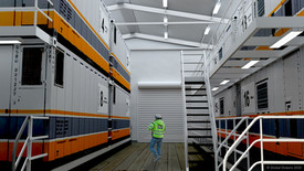Figure 10: Internal view of the enclosed laboratory cluster for polar expeditions.