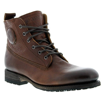 Boots cuir marron