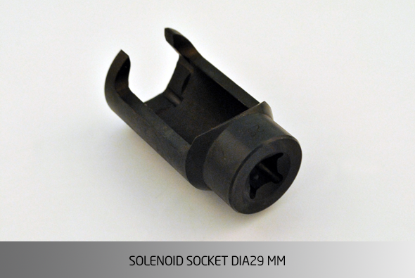 KO1532 SOLENOID SOCKET Ø29 MM