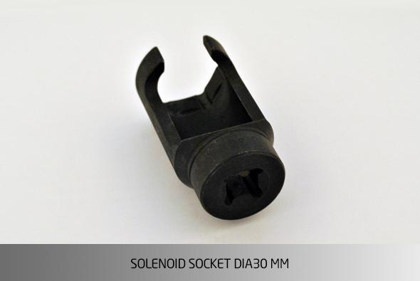 KO1536 SOLENOID SOCKET Ø30 MM
