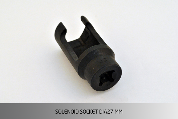 KO1534 SOLENOID SOCKET ��27 MM