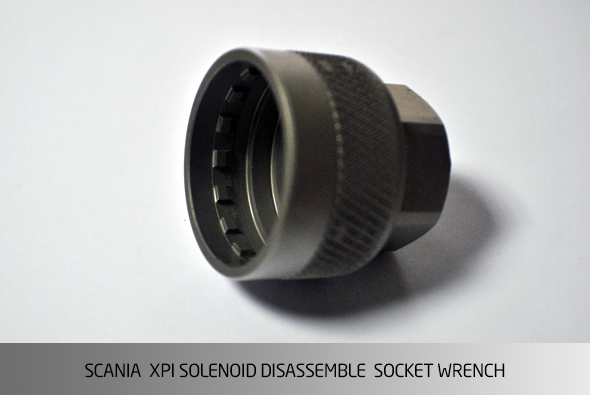 AA4313 SCANIA XPI SOLENOID DISASSEMBLY SOCKET WRENCH