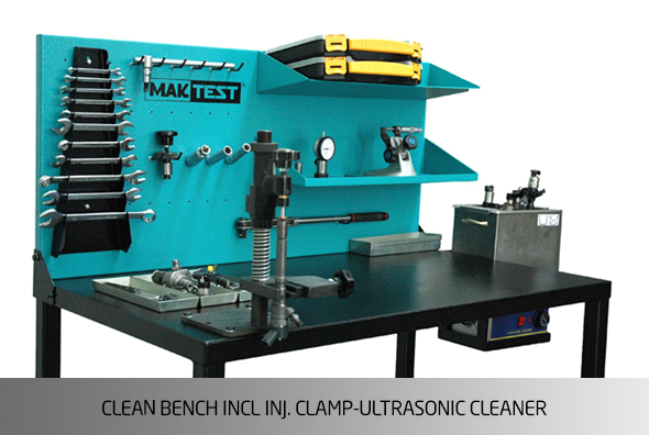 KO1437 Repair Bench only with 6 Trays