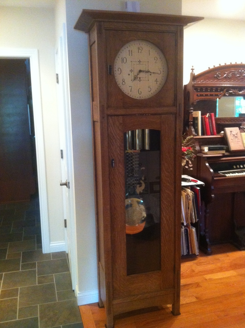 stickley clock