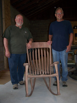 John and Chuck Bardocz Rocker